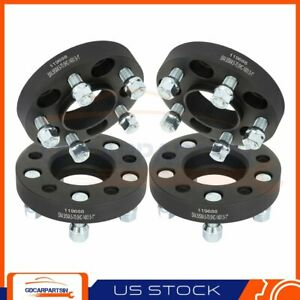 4 1 25mm Hubcentric Wheel Spacers 5x4 5 5x114 3 Fits 2017 2018 Ford Mustang