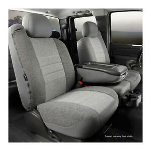 Fia Oe37 6 Gray Front Split Seat Cover For 92 02 Ford Ranger mazda Pick Up