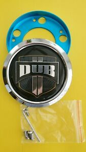 Dub Center Cap 1002 01 For Spinner Floaters Wheels Rim With 5 Bolts Big Bearing