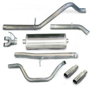 Corsa 24907 Db Cat Back Exhaust System Dual Under The Bumper Exit