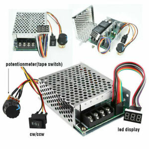 Us 10 55v 100a 5000w Reversible Dc Motor Speed Controller Pwm Control Soft Start