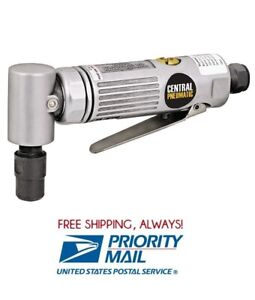 1 4 Dr Mini Air Die Grinder 90 Degree Right Angle Rear Exhaust