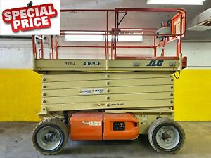 2009 Jlg 4069le 40 Ft Electric Scissor Lift Aerial Platform