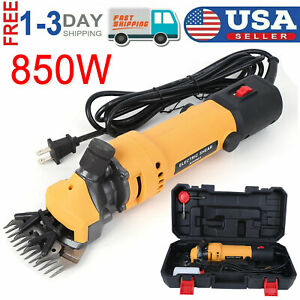 850w Electric Sheep Goat Shears Wool Sissor Shearing Hair Grooming Clippers Farm