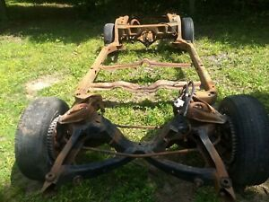 1966 Buick Wildcat Wildcat Gran Sport Complete 2 Dr Rolling Chassis Frame