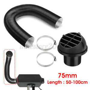 75mm Heater Pipe Duct Warm Air Outlet Hose Clip For Eberspacher Diesel