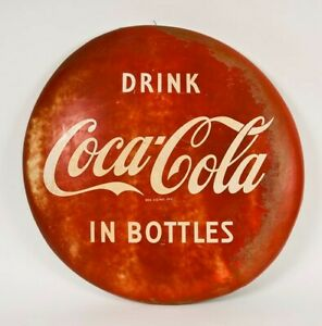 COCA - COLA - OLD SIGN - LARGE 1953