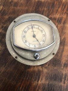 Vintage Mid 1930s Pierce Arrow Clock Gauge Geo W Borg Corp