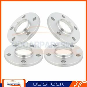 4 12mm Universal Wheel Spacers 70 3cb 5lug 5x115 For Chevrolet Cadillac Buick