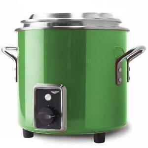 Vollrath 7217235 11 Qt Candy Apple Green Countertop Rethermalizer