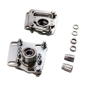 3 Adjustable Camber Caster Plates Coilover Alignment For Ford Mustang 94 04
