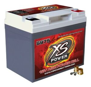 Xs Power Battery Xs Power Agm Battery 12v 500a Ca S975