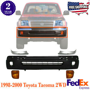 Front Bumper Cover Ends Signal Lamp Lh Rh For 1998 2000 Toyota Tacoma