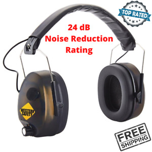 Noise Canceling Electronic Ear Muffs For Workplace Garage Indoor Outdoor Sports