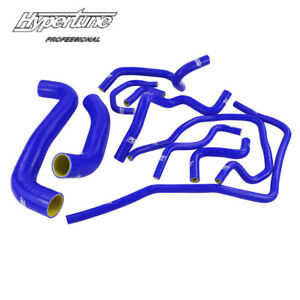 10pcs Radiator Hose Kit Silicone Fit For Subaru Impreza Wrx Sti Gdb Ej20