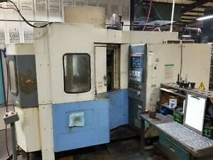 Mazak Fh480x Cnc Horizontal Machining Center 1997 Under Power