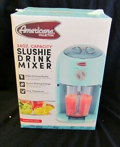 34oz Americana Frozen Drink Maker Slushie Machine Ice Shaver Beverage Mixer New