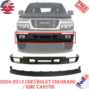 Front Bumper Cover Extension For 2004 2012 Chevrolet Colorado Gmc Canyon