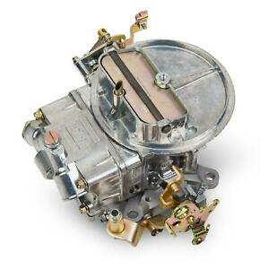 Holley 0 4412s Shiny Zinc 2 Barrel Carburetor 500 Cfm W Manual Choke Gasoline