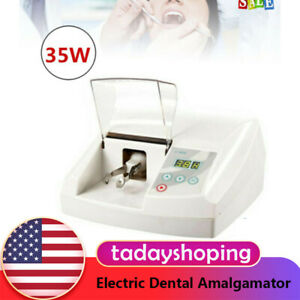 Amalgam Electric Dental Amalgamator Capsule Mixer Equipment High Speed 110v 35w