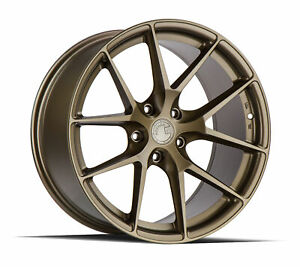 19x8 5 Aodhan Aff7 5x114 3 35 Flow Forged Matte Bronze Wheels Set Of 4