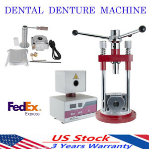 Dental Flexible Partial Denture Making Machine Injection System Separate Press
