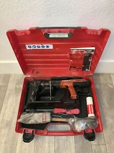 Hilti Dx351 Powder Actuated Tool Nail Gun Fastener Kit With Magazine Xtra Driver