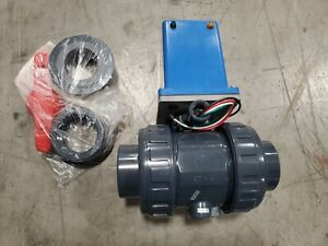Asahi Electromni 2 Pvc Electrically Actuated Ball Valve 2002020