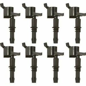 Msd 55138 Street Fire Ignition Coils For 04 08 Ford 4 6 5 4l 3 valve 8 Pack