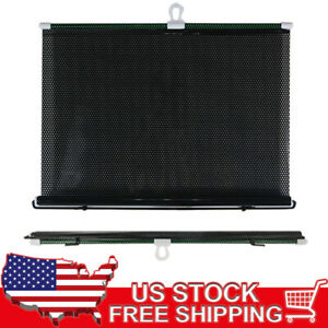 Car Window 49 X 16 5 Roll Up Reflective Cover Sun Shade W Suction Cups