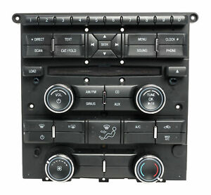 Radio And Climate Control Panel Ford 2011 2014 Mustang Cr3t 18a802 Ja