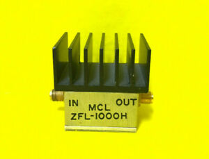 Mini circuits Zfl 1000h 10 1000 Mhz Sma f Rf Power Amplifier Tested