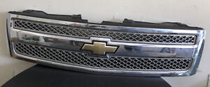 Oem Front Grille Assembly For Chevrolet Silverado 1500 2007 2013 Gm1200572