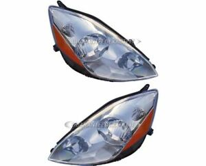 For Toyota Sienna 2006 2007 2008 2009 Pair New Left Right Headlight Assembly Dac