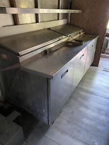 Atosa 93 Inch Refrigerated Prep Table Mpf8203