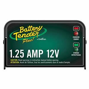 Battery Tender Plus Charger And Maintainer 12v 1 25 Amp Powersport Battery