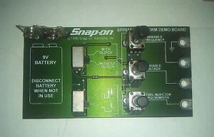 Snap On Waveform Demo Board Spp816 For Vantage Verus Modis Labscope Scanner Dmm