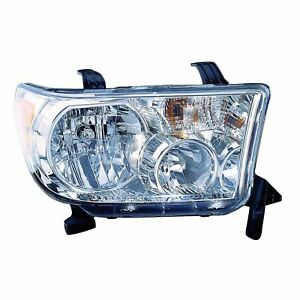 Headlight W Level Adjuster High Quality Capa Right For 2009 2013 Toyota Tundra