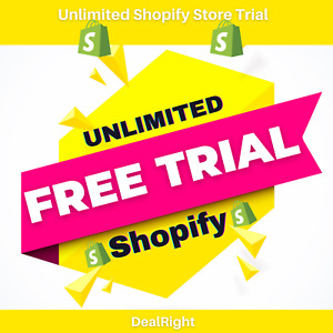 Shopify Free Unlimited Store website Trial Days No More 14 Days Free Apps
