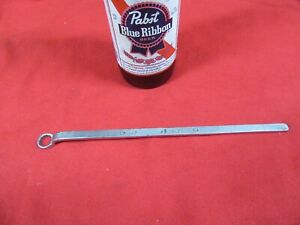 Vtg Mac S165 10mm Metric Offset Oil Pump Wrench 9 Long Usa Gd Mc8 31 20