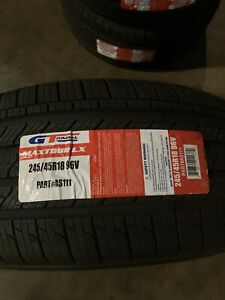 4 New 245 45 18 Gt Radial Maxtour Lx Tires