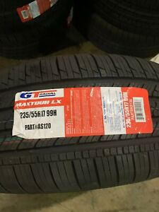4 New 235 55 17 Gt Radial Maxtour Lx Tires