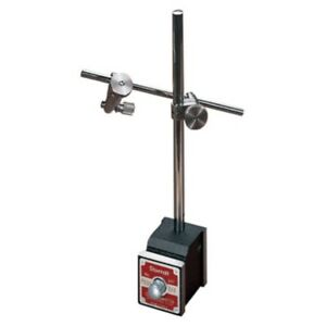 Starrett 657aa Magnetic Base Complete Set With Base Upright Post Rod Attachment