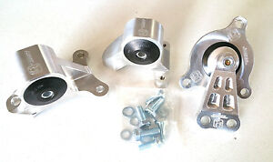 Innovative Billet Motor Mount Kit For Rsx 02 06 M t Civic Si 02 05 Ep3 75a