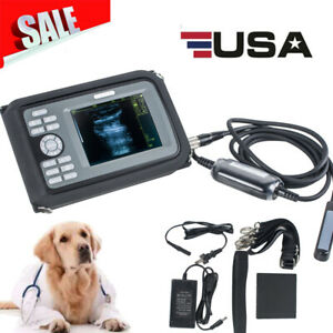 5in Portable Handheld Digital Ultrasound Scanner Rectal Probe Animal Veterinary