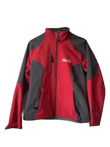 North End Coca Cola Jacket Womens Small/P warm lock red gray