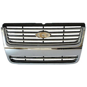 Front Grille Fits 2006 2010 Ford Explorer 104 01941c P