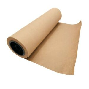 Brown Kraft Paper Roll 18 X 1800 150 Recycled 40 Bond Crafts Packaging