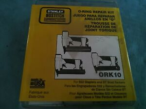 Stanley Bostitch Ork10 O ring Repair Kit For S32 Stapler Bt Brad Nailer