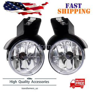 For 1997 2000 Dodge Dakota 1998 2000 Dodge Durango Fog Lamp Light W bulb Set